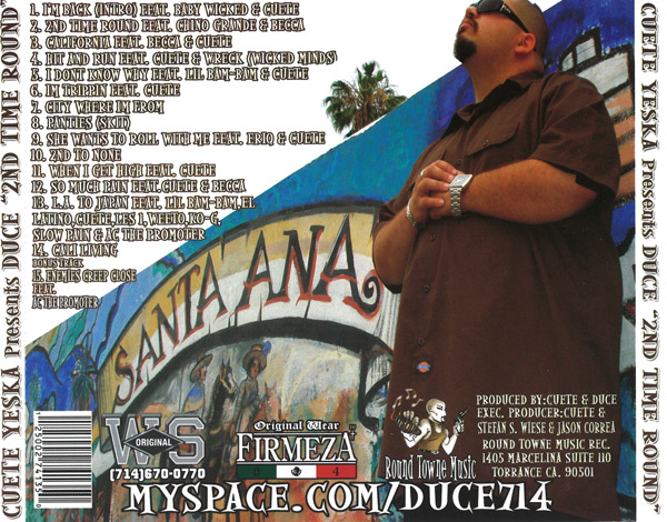 Duce - 2nd Time Round Chicano Rap